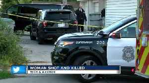 Woman shot and killed near 19th and Arthur [Video]