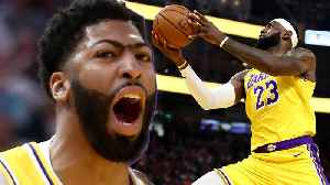 Lakers Send WARNING To Rest Of NBA After DEMOLISHING Warriors With AD's Insane First Game 🚨 [Video]