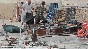 News video: More than a dozen bodies recovered after migrant boat capsizes in the Mediterranean