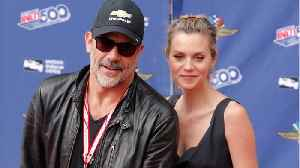 News video: Jeffrey Dean Morgan And Hilarie Burton Are Officially Married