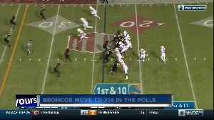 Boise State moves to No. 14 in the AP Top 25 poll [Video]