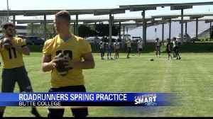 Butte College football team opens Spring drills [Video]