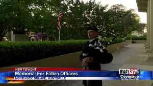 Memorial For Fallen Officers [Video]