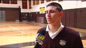 Justin Paz equipo Todo Estado en baloncesto [Video]