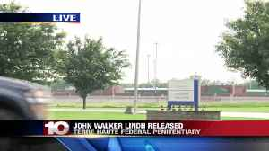 John Walker Lindh, the man convicted of serving in Taliban army, released from prison in Terre Haute [Video]