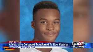 Shoals Football Player Hospitalized [Video]