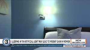 Sleeping with artificial light could cause weight gain in women [Video]