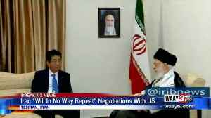 """Iran """"Will In No Way Repeat"""" Negotiations with US [Video]"""