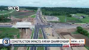 Construction likely to cause delays for AmFam Championships [Video]