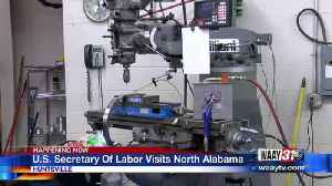 Dynetics to create new jobs after Secretary of Labor tours North Alabama [Video]