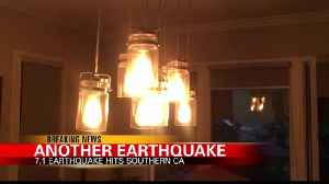The Latest: 7.1 quake rattles Southern California [Video]