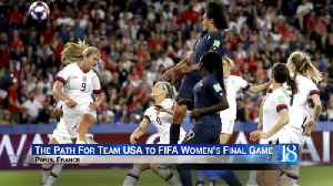 Locals ready to support team USA in FIFA Womens' World Cup Final game [Video]