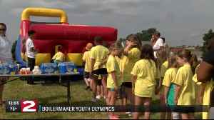 More than 200 kids participated in Boilermaker Youth Olympics [Video]
