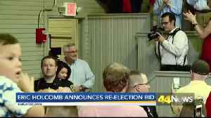 Eric Holcomb annnounces bid for re-election [Video]