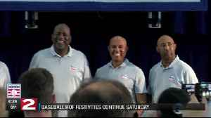 7-20 Baseball Hall of Fame inductees discuss being in Cooperstown and getting into Hall [Video]