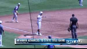 Newman advances to state title game [Video]
