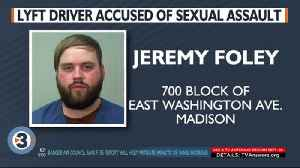 Lyft driver arrested, accused of sexually assaulting a passenger in Madison [Video]