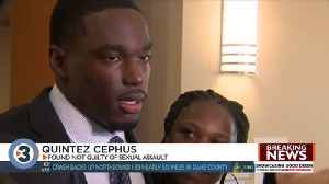 Former UW Badger football player Quintez Cephus found not guilty in sexual assault trial [Video]