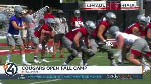 Cougs open fall football camp [Video]