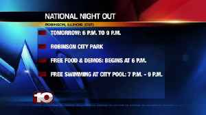 Robinson set to host its National Night Out event [Video]