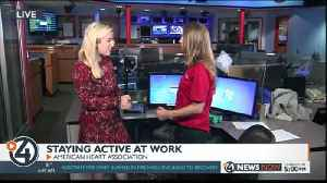 Staying active at work [Video]