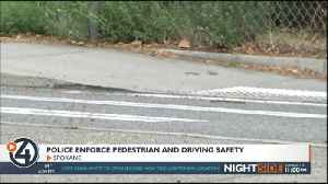 SPD work to lower pedestrian crashes with a patrol emphasis [Video]