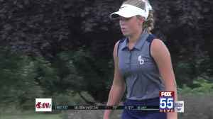 High School Girls Golf: Frazier Leads Saints to Sectional Title [Video]