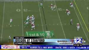 Oregon cruises past Stanford in their first Pac-12 win of the season [Video]