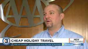 Flying for Christmas or Thanksgiving? AAA says book now [Video]