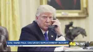 Rand Paul Impeachment [Video]