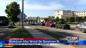 Crash on Governors Drive in Huntsville causes delays [Video]