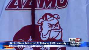 Alcohol sales authorized at Alabama A&M University [Video]