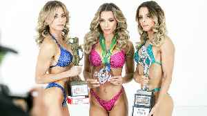 World's Only Bodybuilding Triplets Face Off [Video]
