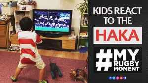 Kids react to All Blacks Haka  MyRugbyMoment [Video]
