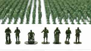 40,000 toy soldiers highlight plight of veterans transitioning to civilian life [Video]