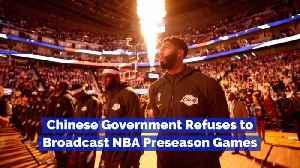 One Tweet Cancels NBA Preseason Games [Video]