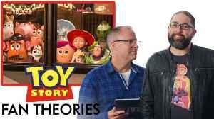 Toy Story Creators Break Down Fan Theories from Reddit [Video]