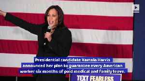 Kamala Harris Unveils 6-Month Paid Family and Medical Leave Plan [Video]