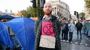 Extinction Rebellion protester explains why he's on hunger strike [Video]