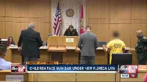 Children as young as 8 years old face gun ban under Florida's new red flag law [Video]