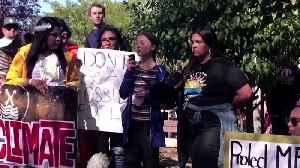 Greta Thunberg leads South Dakota climate rally [Video]