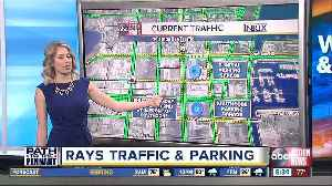 Rays traffic, parking info for game 4 against Astros at Tropicana Field [Video]