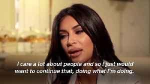 Kim Kardashian talks Greta, politics, and prison [Video]
