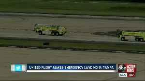 United flight makes emergency landing in Tampa [Video]