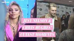 Jesy Nelson and Chris Hughes' cutest moments [Video]