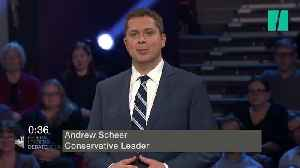 News video: 'You're A Phony, You're A Fraud': Andrew Scheer On Justin Trudeau