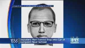 Deputies: Man Forced Boy Into Car At Gunpoint Near School [Video]
