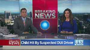 Child Hit By Suspected DUI Driver [Video]