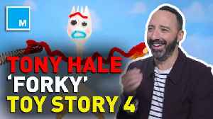 Tony Hale talks 'Toy Story 4,' and how he stays present in his life [Video]