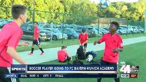 Pembroke Hill's Andrew Johnson returns to elite soccer camp in Germany [Video]